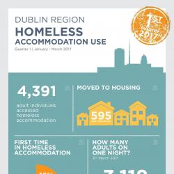 Homeless Accommodation Use Q1 2017